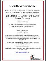 Children's Ballroom & Latin Dance Classes